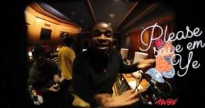 Video: A$AP Rocky, Kanye West & A$AP Ferg - AWGE DVD 3 Studio Freestyle
